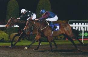 Penpal winning at Kempton